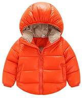 JELEUON Toddler Baby Boys Girls Puffer Cotton-padded Coat Jacket Kids Clothes S
