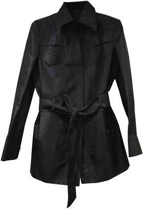 Brioni \N Black Silk Coat for Women