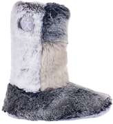 Bedroom Athletics Florence Faux Fur Boot Slippers, Multi