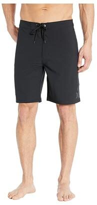 Hurley 20 Phantom One Only Boardshorts (Black) Men's Swimwear