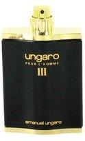 Ungaro Emanuel III by Eau De Toilette Spray (Tester) for Men - 100% Authentic
