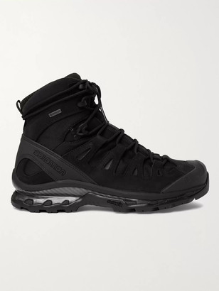 Salomon Quest 4d Gtx Advanced Rubber-Trimmed Suede And Gore-Tex Hiking Boots