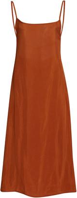 Anemos K.M. Washed Cupro Midi Dress