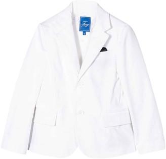 Fay White Teen Jacket