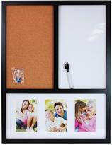 nexxt Memory Board(Dry Erase/Cork Board/3-4 x 6 in.Collage)18 x 24 in. in Black