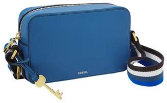 Fossil Billie Small Crossbody Handbags Malibu Blue