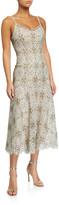 Jonathan Simkhai Savannah Guipure Lace Midi Dress