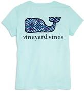 Vineyard Vines Girls' Whale Tail Pocket Tee