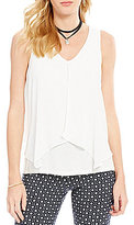 I.N. San Francisco V-Neck Flyaway Popover Top