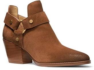 MICHAEL Michael Kors Pamela Bootie (Luggage) Women's Shoes