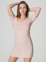 American Apparel T SHIRT DRESS RSA2314 Short Sleeve