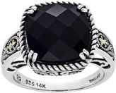 FINE JEWELRY Shey Couture Genuine Onyx Sterling Silver Ring