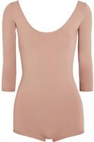 Valentino Stretch-jersey Bodysuit - Blush