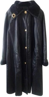Non Signé / Unsigned Non Signe / Unsigned Black Leather Coats