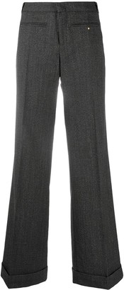 Gucci Pre Owned Flared Tailored Trousers