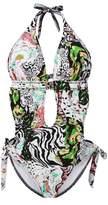 LE BESI Women's Fashion One Piece Elegant Inspired Monokini Swimsuit