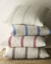 "Horchow French Laundry Home 20""Sq. Striped Pillow"
