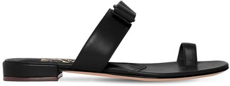 Salvatore Ferragamo 10mm Louisa Leather Sandals