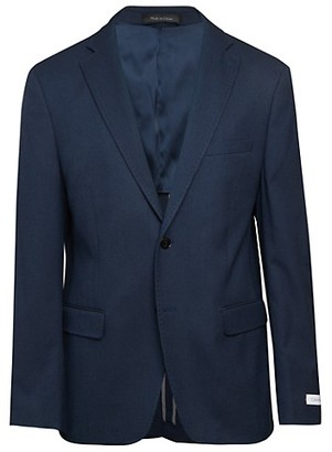 Calvin Klein Slim-Fit Textured Jacket