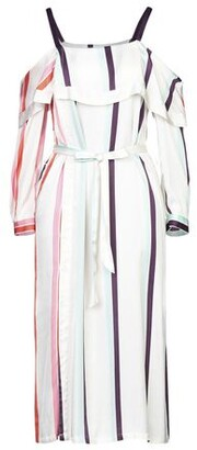Isa Belle Isabelle Blanche Paris ISABELLE BLANCHE Paris 3/4 length dress