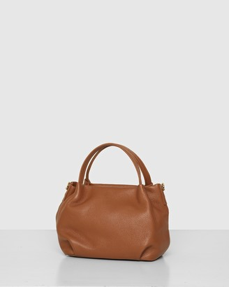 Bee Women's Brown Leather bags - The Poppy Crossbody - Size One Size at The Iconic