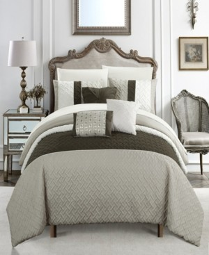Chic Home Osnat 8 Piece Twin Bed In a Bag Comforter Set Bedding