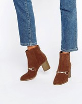 Asos REVATI Suede Ankle Boots