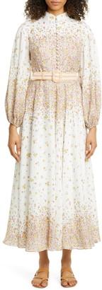 Zimmermann Carnaby Long Sleeve Maxi Dress