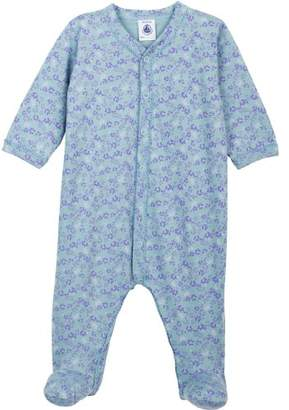 Petit Bateau 6471071 Girls' Pyjamas Nattier/Multico - Blue - 0-3 Months