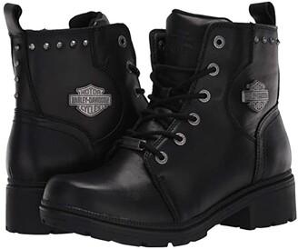Harley-Davidson Cynwood (Black) Women's Boots