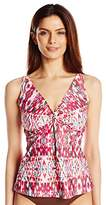 Sunsets Separates Sunsets Women's Twist Tankini Top