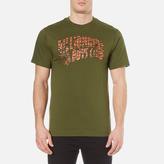 Billionaire Boys Club Zebra Camo Arch Logo Tshirt - Olive