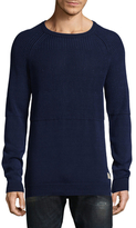 Scotch & Soda Home Alone Structured Crewneck Sweater