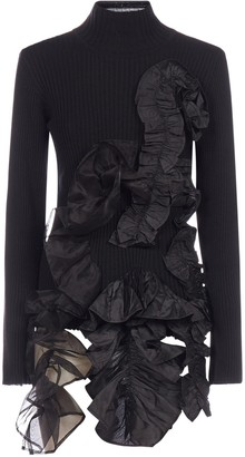 Marques Almeida Asymmetric Turtleneck Jumper