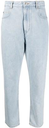 Etoile Isabel Marant Mid-Rise Cropped Jeans