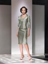 Mon Cheri Social Occasions by Mon Cheri - 214833 Short Dress In Dark Sage