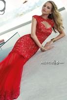 Alyce Paris Claudine - 2401 Dress in Red Nude