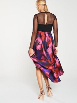 Very Mesh Top JacquardProm Dress - Multi