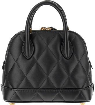 Balenciaga Black Quilted Leather Ville Top XXS Satchel Bag