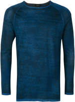 Avant Toi distressed effect jumper