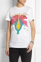 Christopher Kane Printed cotton T-shirt