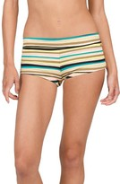 Volcom Women's Salty Air Boyshort Bikini Bottoms