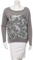 Diane von Furstenberg Wool Sequin Sweater