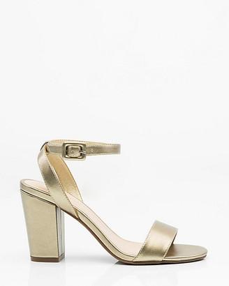 Le Château Ankle Strap Block Heel Sandal