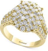 Effy D'Oro by Diamond Cluster Statement Ring (2-1/10 ct. t.w.) in 14k Gold
