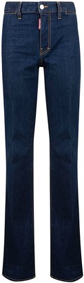 DSQUARED2 Long Flared Leg Jeans