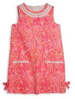Lilly Pulitzer Toddler's, Little Girl's & Girl's Vintage Dobby Flamingo Shift Dress
