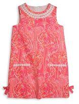 Lilly Pulitzer Toddler's, Little Girl's & Girl's Vintage Dobby Flamingo Shift Dress