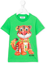 Moschino Kids tiger print T-shirt