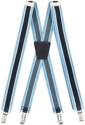 Emporio Armani Kids Two-Tone Crossover Suspenders